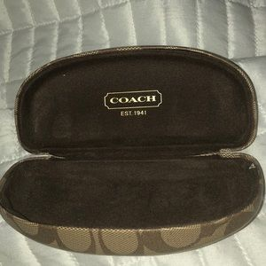 Coach Hard Shell Glasses Case